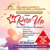 NACEDRAM RISE UP National Virtual Event