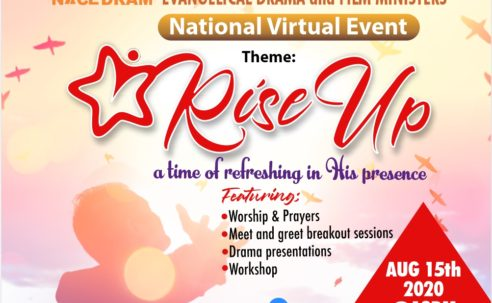 NACEDRAM RISE UP National Virtual Event